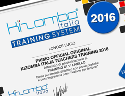 Kizomba Italia Training System